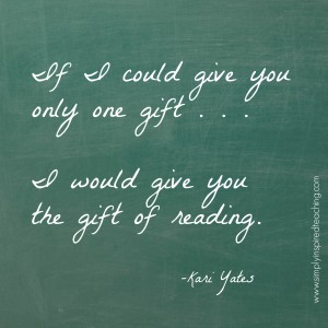 A Message to the Children: The Gift of Real Reading