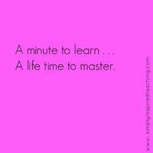 A Single Step to Begin. A Lifetime to Master.