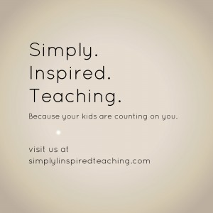 Simply.  Inspired. Teaching.