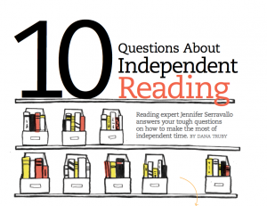 10 Questions about Independent Reading