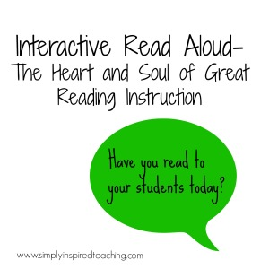 Interactive Read Aloud – 10 Tips