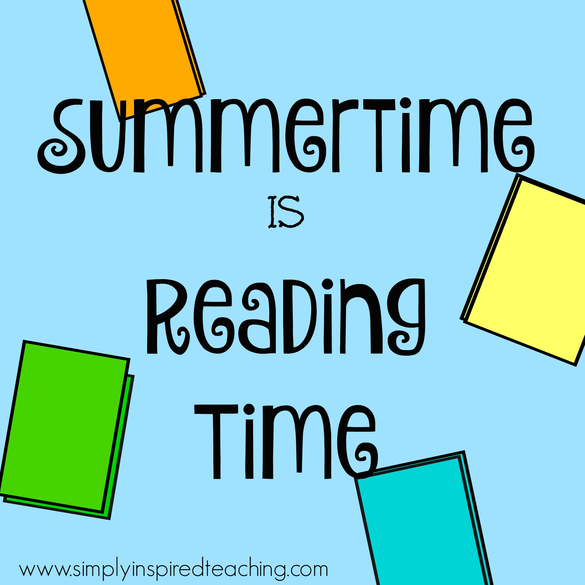 summertime is reading time